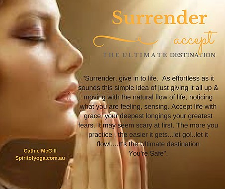Develop the Habit of Surrender to Overcome Stress
