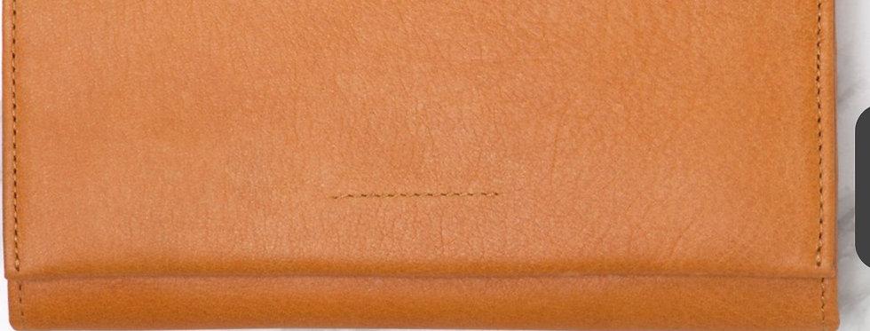Ovae, Eva Leather Wallet   Turmeric