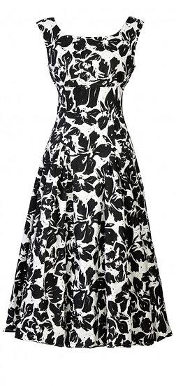 Ascot Dress Black