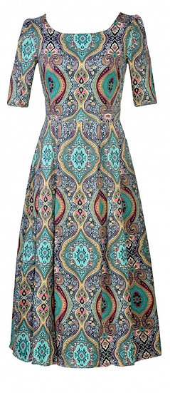 Persia Dress Long Teal
