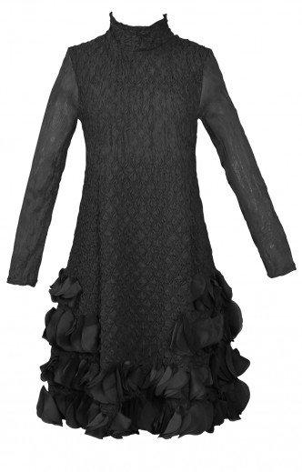 Puff Dress Black