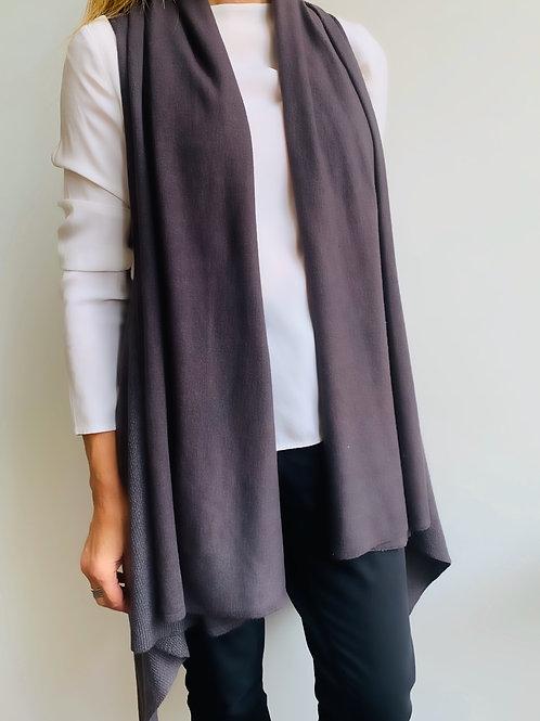 Eva Vest Charcoal