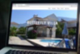 Code Box Media Butterfly Villa Web Design