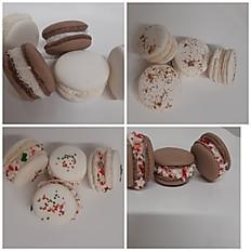 Dozen Holiday macarons