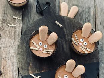 Hasen- Schokoladenmousse