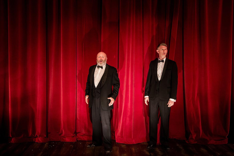 Howard Coggins and Stu Mcloughlin in Fra