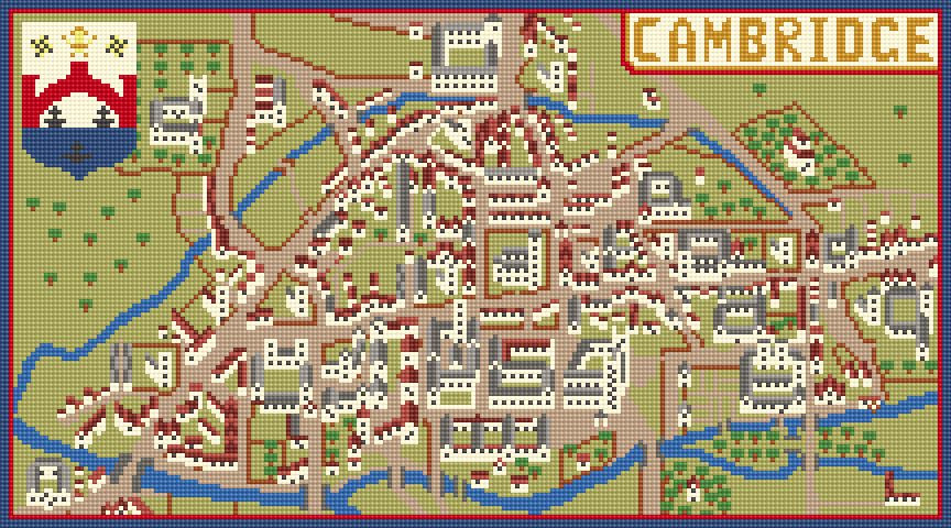 Historic Cambridge CANVAS ONLY