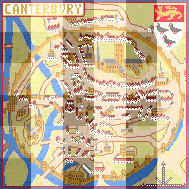 Historic Canterbury CANVAS ONLY
