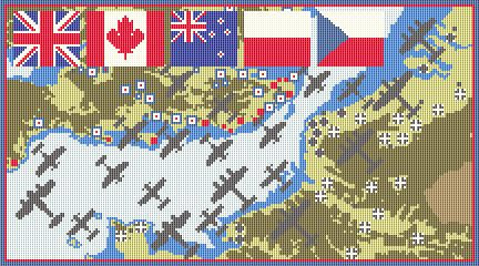 The Battle of Britain CANVAS ONLY