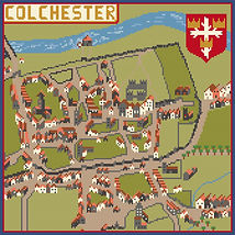 gift for mum gran|oldest town|essex|old maps|watermill|colchester castle| st boltophe|