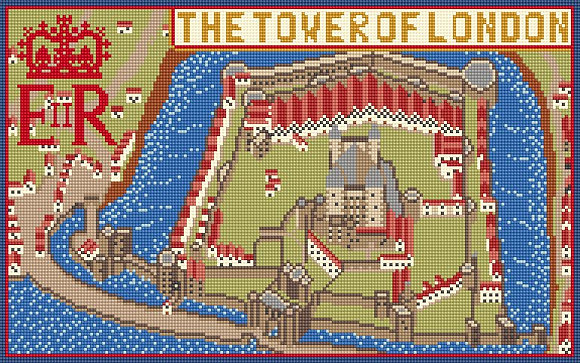 The Tower of London CANVAS ONLY