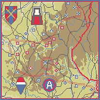 nuts|ardennes offensive|101 airborne|us 1st army|us3rd army|malmedy|12th us army group|op bodenplatte|ww2 map|siegfried line|american history| gift|r2 map