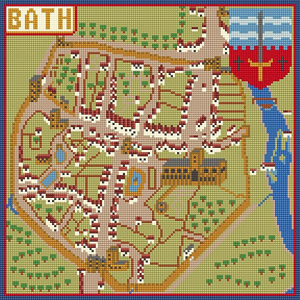 Historic Bath CANVAS ONLY