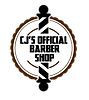 CJ's Official Barbeshop Logo