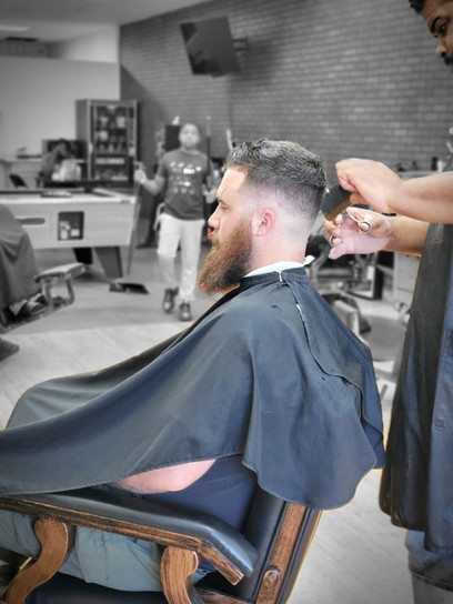 Rock the barber