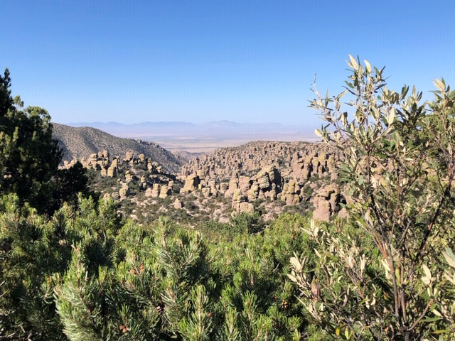 A view from Massai Point in Cochise County, Arizona