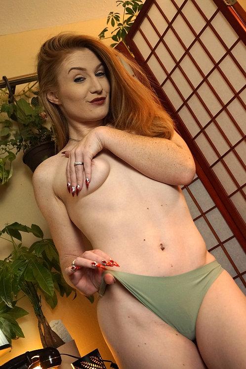 Mermaid Green Panties