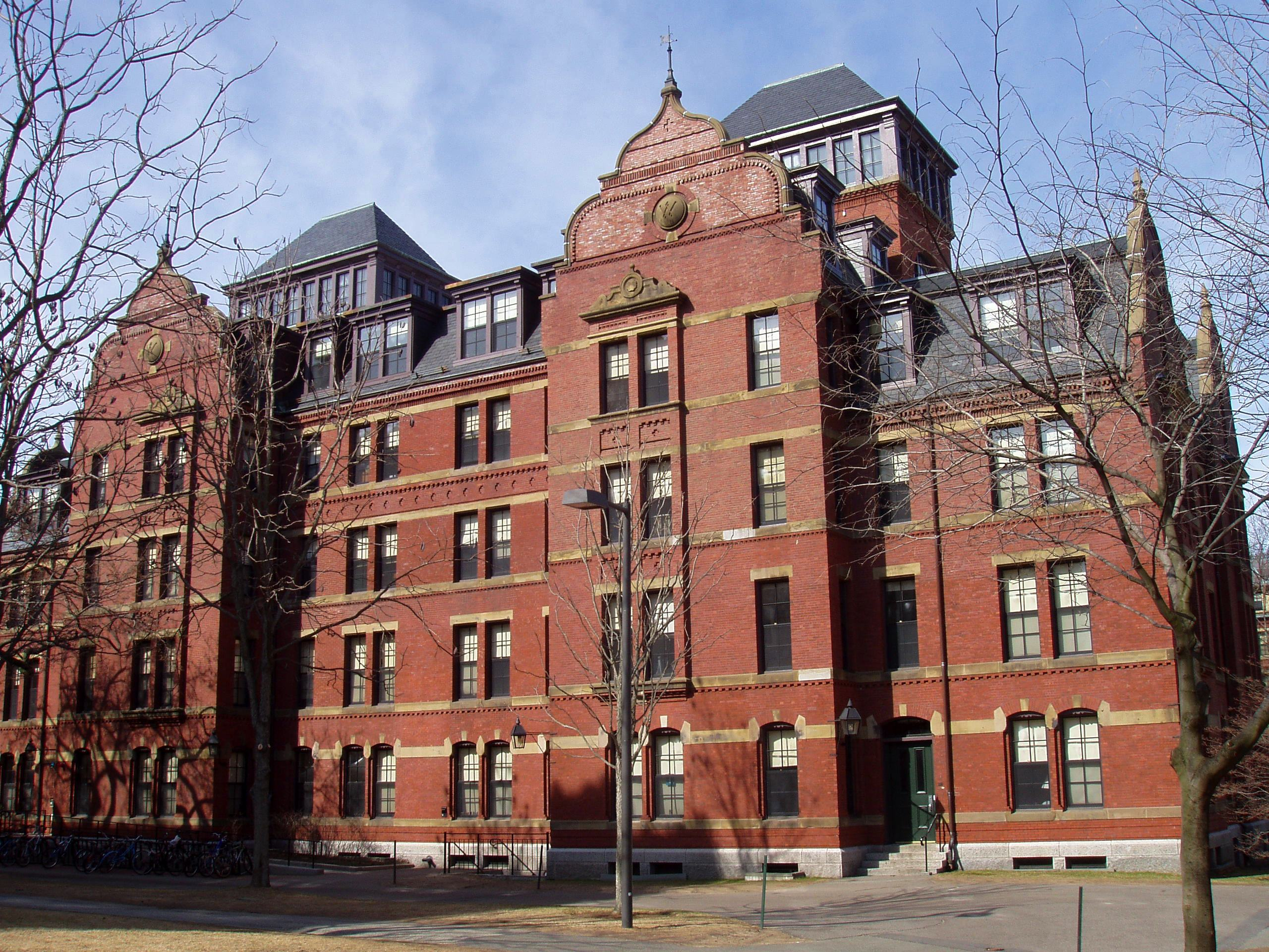 Harvard University Weld Hall