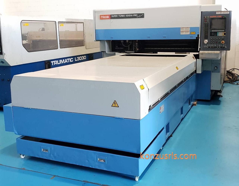 Taglio laser Mazak super turbo 510 hi pr
