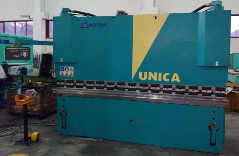 Piegatrice idraulica Warcom unica 3000 x