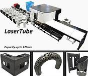 taglio laser tubi 3d