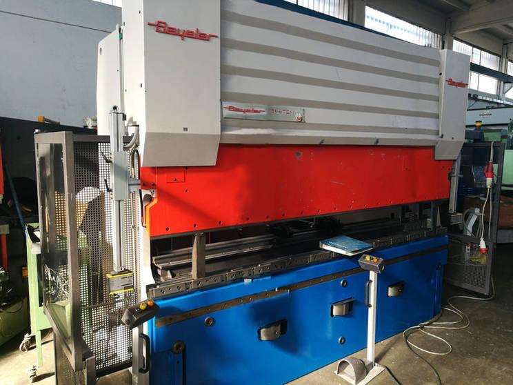 Piegaterice beyeler pr6 3100 mm x 100 ton 8 assi