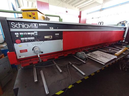 cesoia Schiavi GH 540 A 4000 mm x 5 mm .