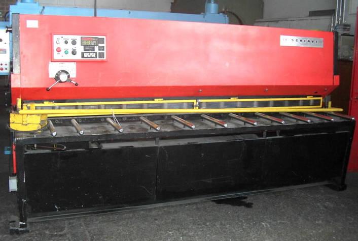 Nůžky Schiavi BRG 306 3000 mm x 6 mm