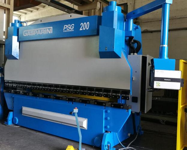 Piegatrice Gasparini psg 4000 x 200 ton.
