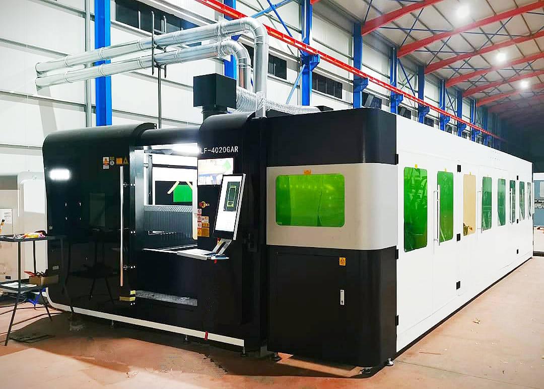 Impianto Taglio Laser Fibra 3015 P