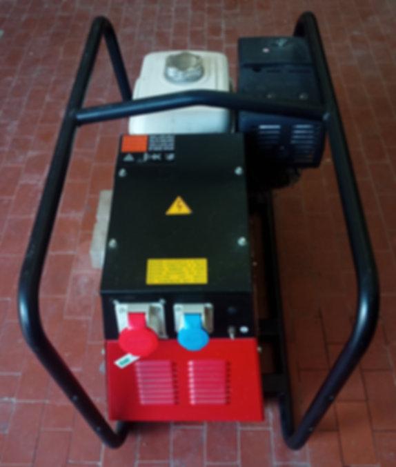 konzu srls propone generatore mosa g 7500