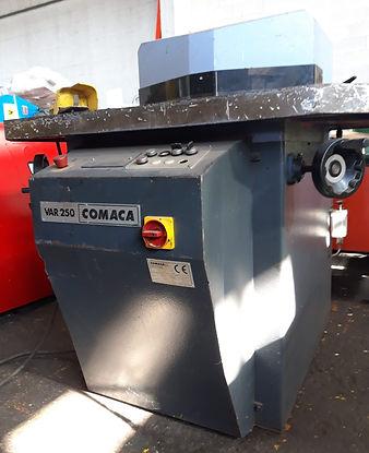 Scantonatrice idraulica Comaca var 250