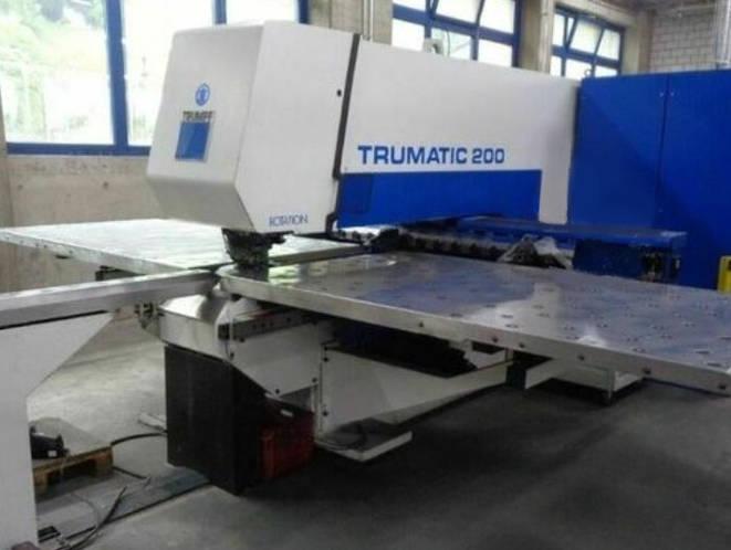 trumatic 200 μηχανή διάτρησης
