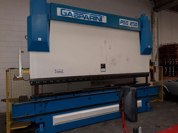 Piegatrice Gasparini PSG 250 4000 mm x 2