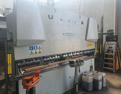 Piegatrice idraulica Warcom mod. Unica 50-30 3000mm x 50 ton