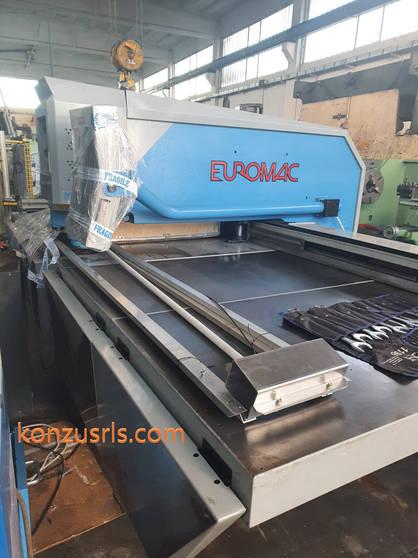Punzonatrice CNC Euromac modello ZX 1000
