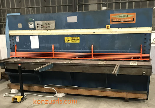 cesoia universal press 3000 mm x 6 mm sp