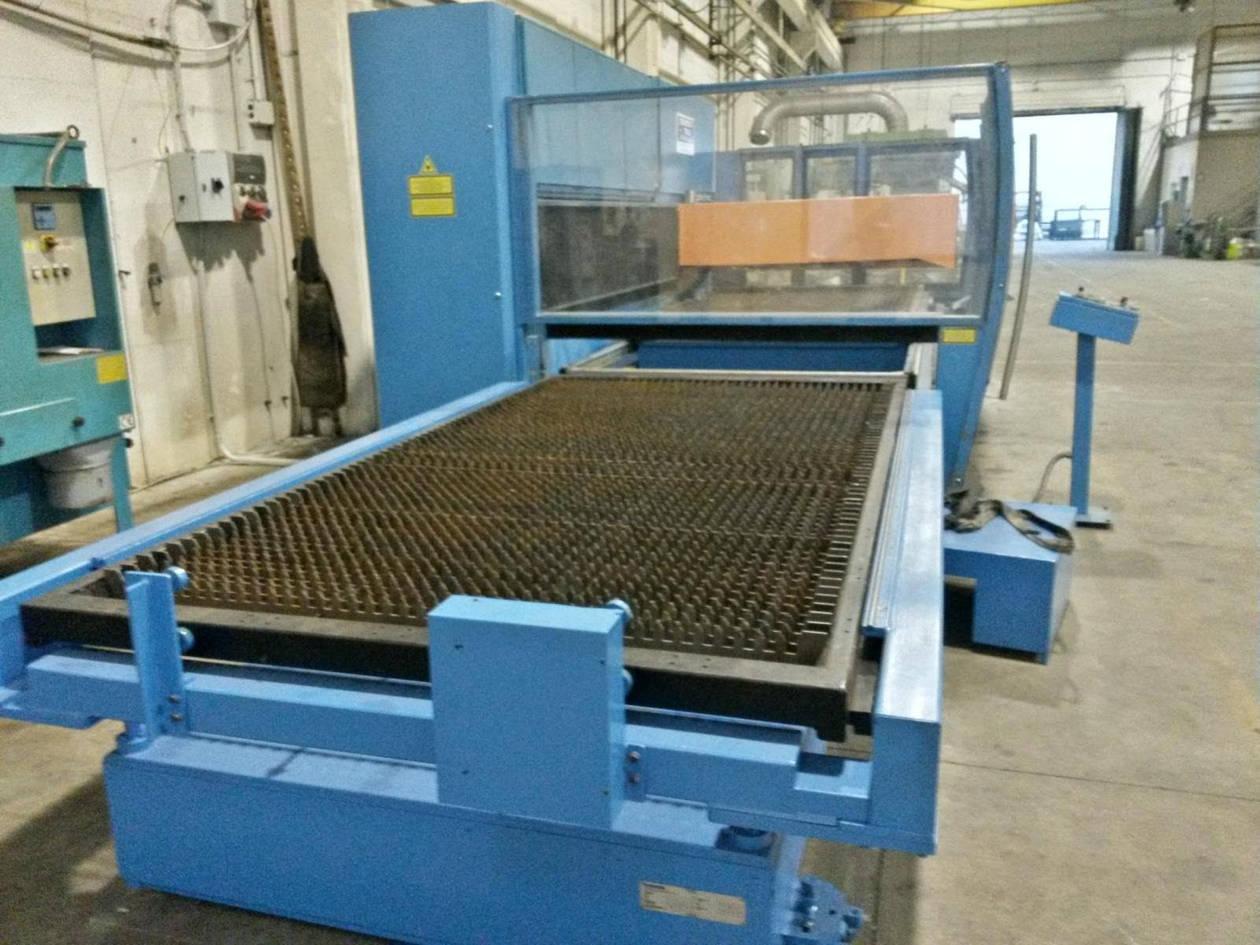 taglio laser Prima industrie modello Pla