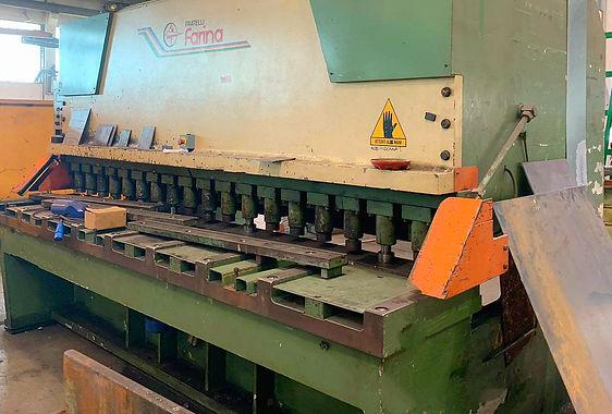 Cesoia idraulica farina modello CFO 320