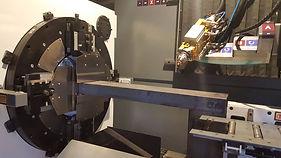 taglio laser fibra tubi