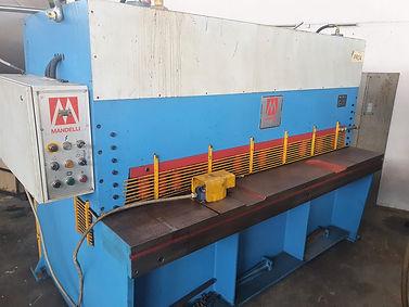 Cesoia idraulica MANDELLI 2000 x 4 mm