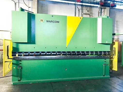 piegatrice warcom unica 4000 mm x 200 to