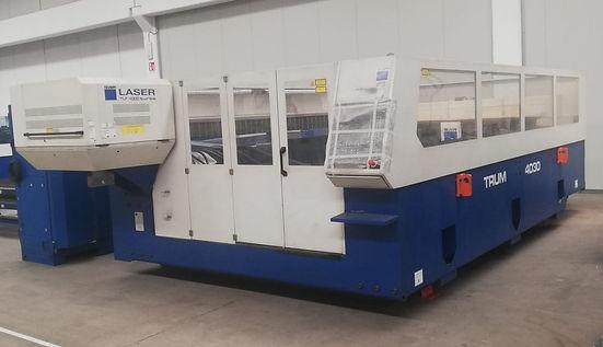 Taglio laser trumpf  4030 4000 x 2000 4