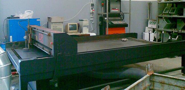 Taglio plasma cr 1500 mm x 3000 mm