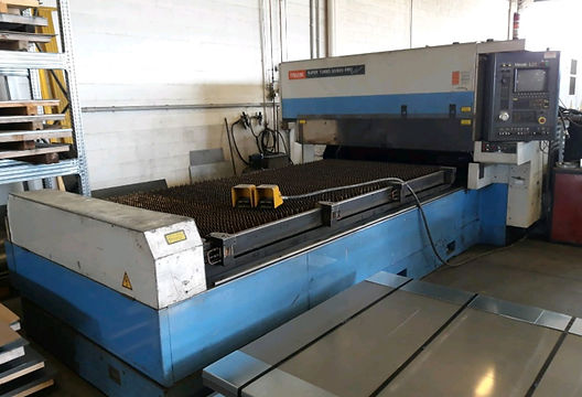 Taglio laser Mazak super turbo x-510 mar