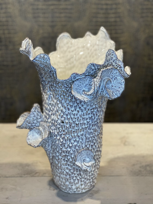 Peri design schelpen vaas