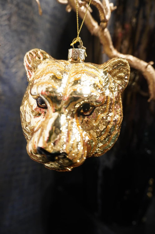 Ornament gold tiger