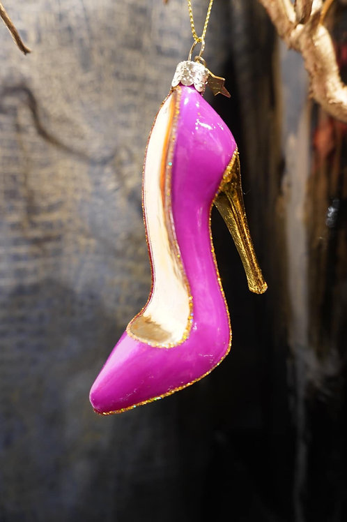 Ornament high heel shoe
