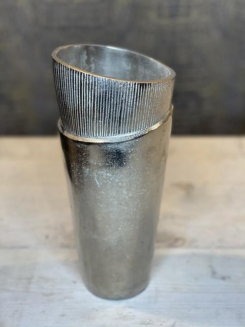 Zilver vaas