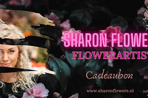 Digitale Cadeaubon Sharon Flowers